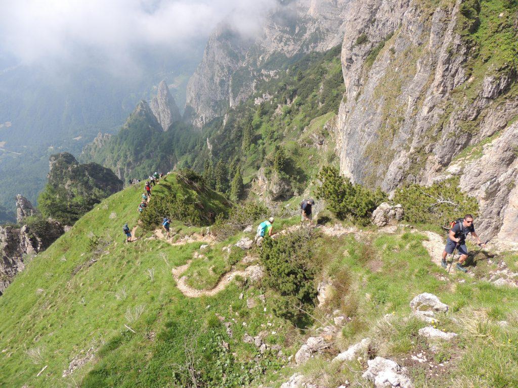 Gara di corsa in montagna
