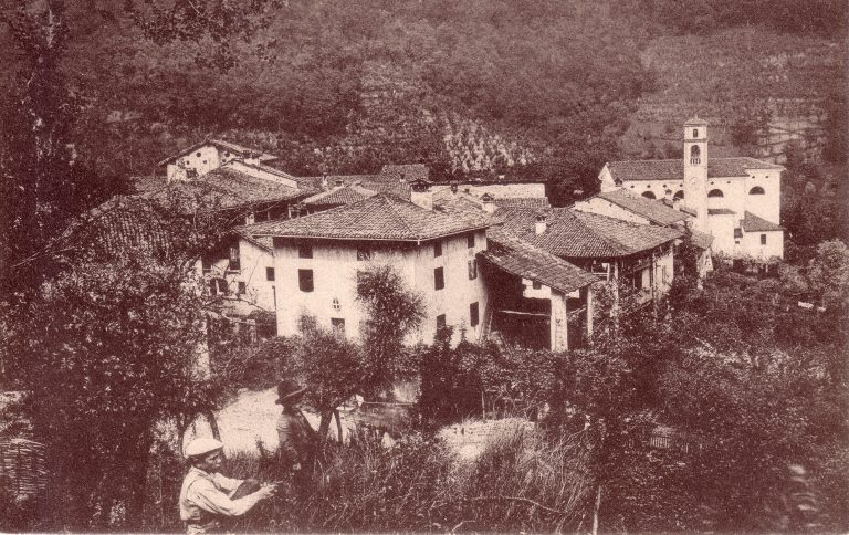 foto storica di S.Antonio del Pasubio