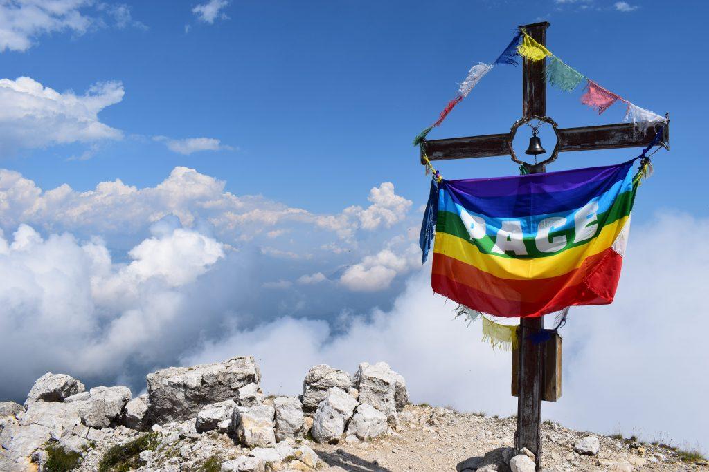 croce sul monte Cornetto