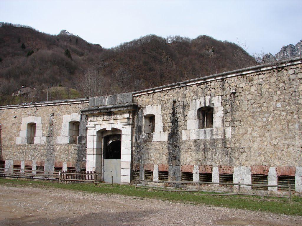 Entrata del Forte Maso