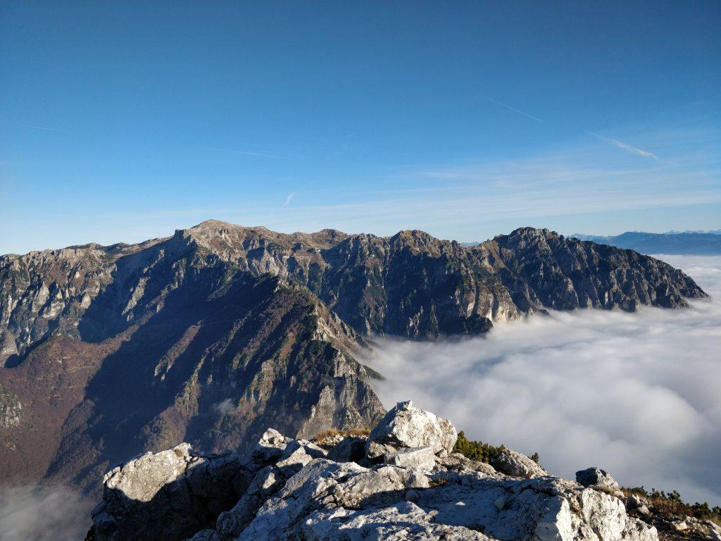 Monte Pasubio con vista panoramica
