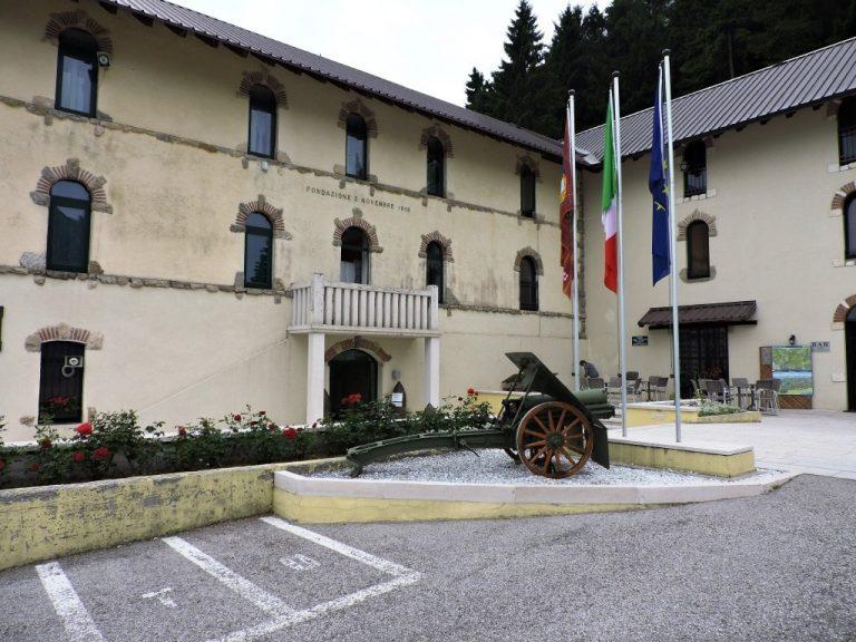 facciata esterna museo della prima armata